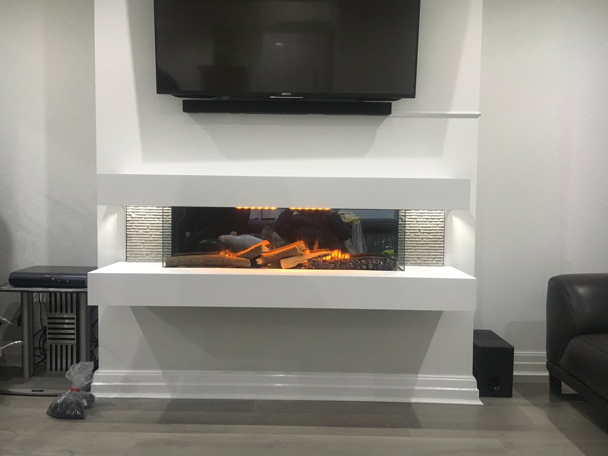 Evonic Fires Compton 1000 Hang On The Wall Electric Fire
