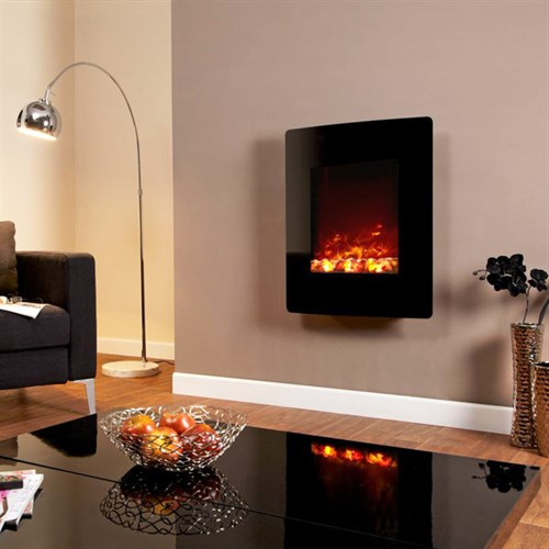 Flamerite Fires Luma 1200 Hang On The Wall Electric Fire