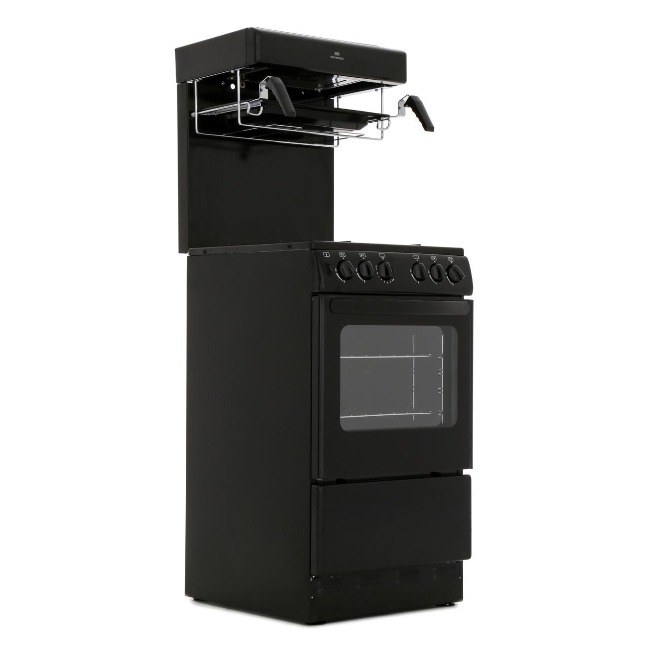new world nw50thlg freestanding 50cm gas cooker high level. Black Bedroom Furniture Sets. Home Design Ideas