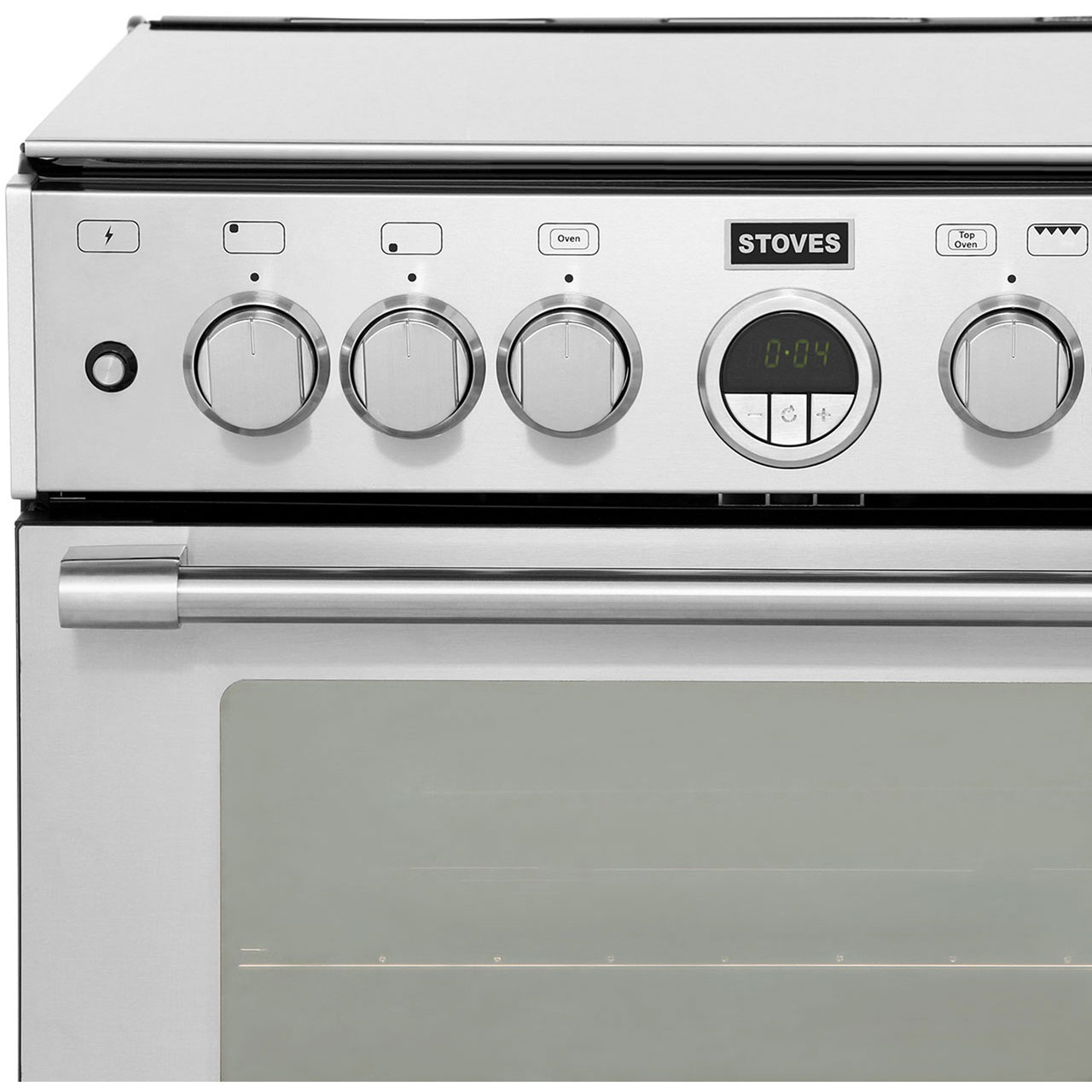 Stoves Sterling 600DF Freestanding 60cm Double Oven Dual Fuel Cooker ...