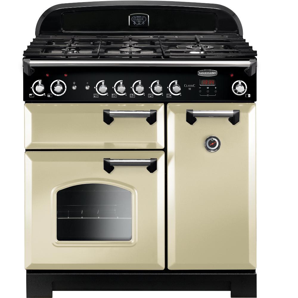 rangemaster classic 90 range style 90cm double oven gas. Black Bedroom Furniture Sets. Home Design Ideas